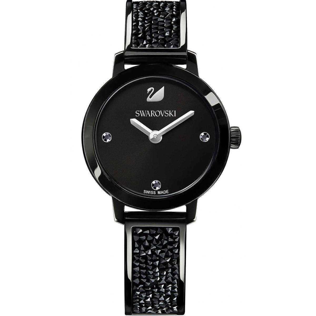 Montre Swarovski 5376071 - Montre Cosmic Rock Jet - Swarovski montres - Modalova