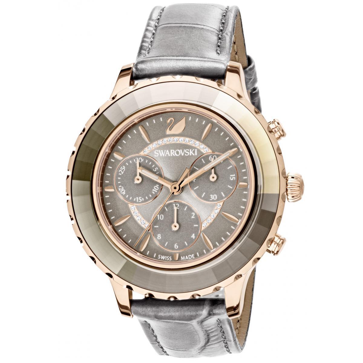 Montre Swarovski Montre 5452495 - Montre Octea Lux Cuir - Swarovski montres - Modalova