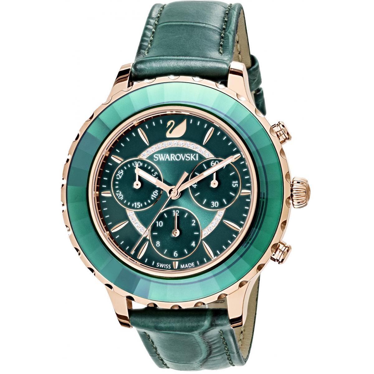 Montre Swarovski Montre 5452498 - Montre Octea Lux Cuir - Swarovski montres - Modalova