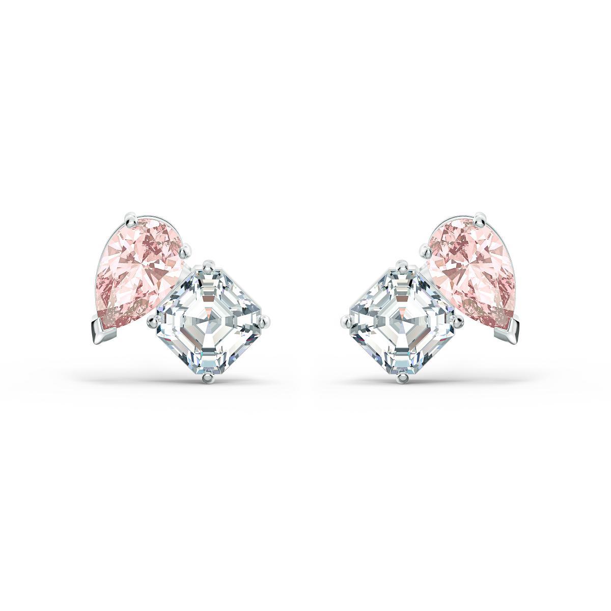 Boucles d'oreilles 5517118 - Boucles d'oreilles métal rose et blanc - Swarovski - Modalova