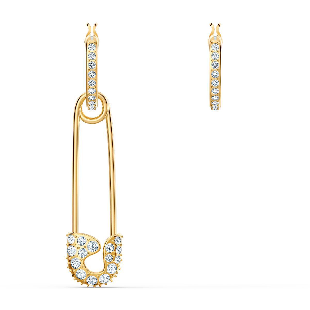 Boucles d'oreilles Swarovski 5521704 Boucles d'oreilles métal or épingle et strass Femme Plus de détails
