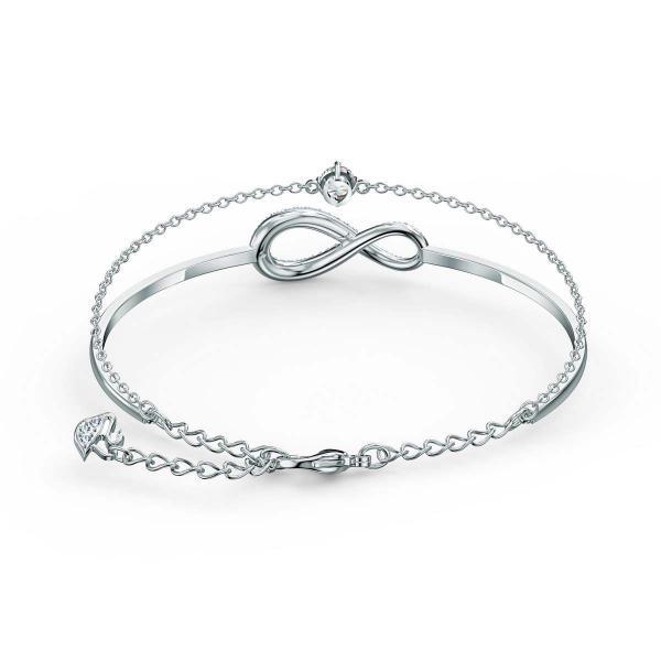 Bracelet Swarovski 5520584 - Bracelet argenté infini Femme