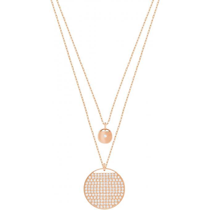 professional sale large discount big sale Collier et pendentif Swarovski 5253286 - Collier et pendentif Cristaux  Cercle Femme