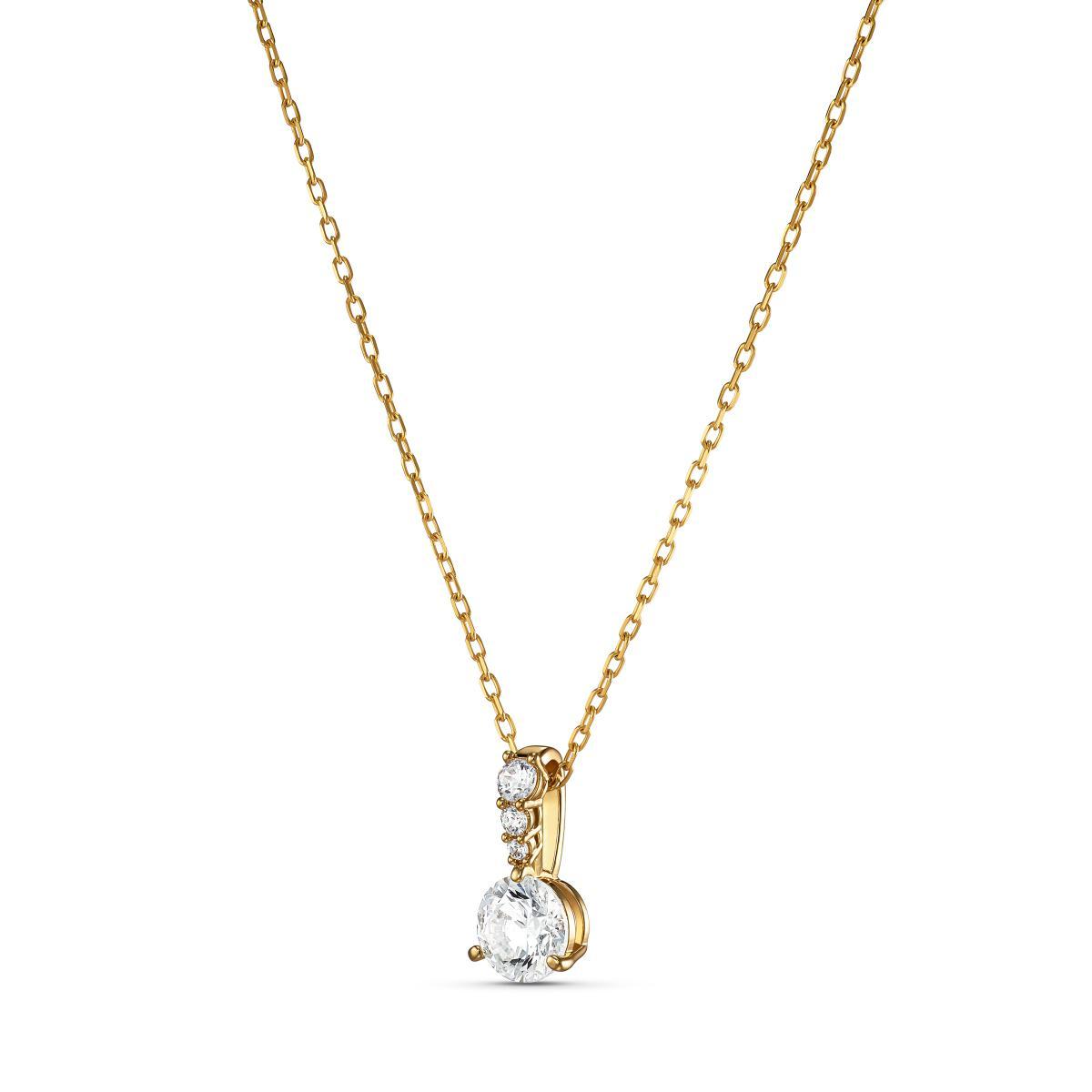 collier or femme swarovski
