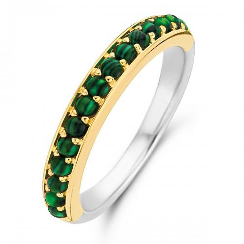 Ti Sento - Bague Ti Sento Malachite Lights 12123MA - Bijoux femme