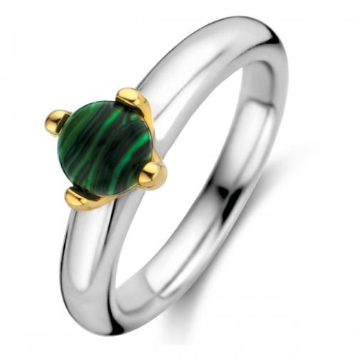Ti Sento - Bague Ti Sento Malachite Lights 12126MA - Bijoux femme