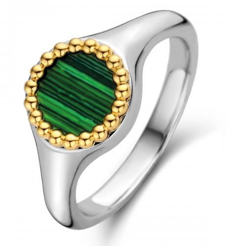 Ti Sento - Bague Ti Sento Malachite Lights 12207MA - Bijoux femme