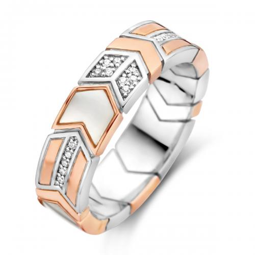 Ti Sento - Bague Ti Sento Wonders of Past and Future 12202MW - Bijoux femme