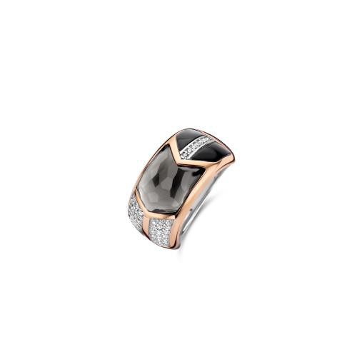 Ti Sento - Bague Ti Sento Wonders of Past and Future 12204GB - Bague femme