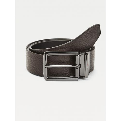 Tommy Hilfiger Maroquinerie - Ceinture reversible Homme cuir marron - Tommy Hilfiger  - Sacoche
