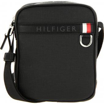 Tommy Hilfiger Maroquinerie - MINI SAC REPORTER COATED CANVAS - Accessoire