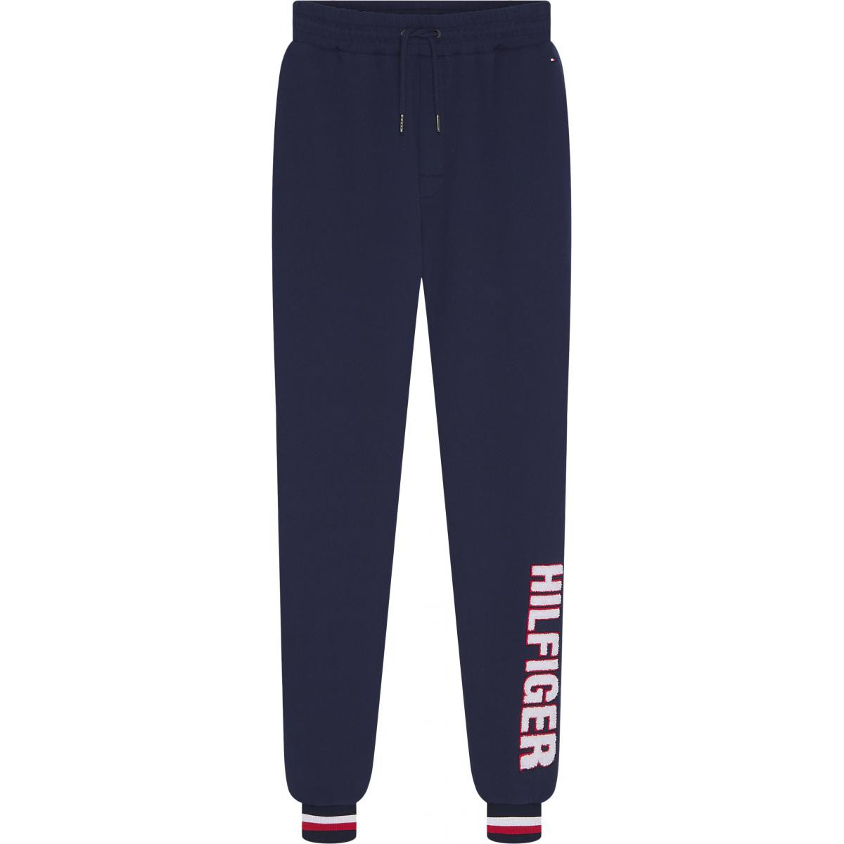 Promo : Pantalon jogging logoté bleu TH Underwear - Tommy Hilfiger Underwear - Modalova