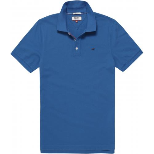 Tommy Jeans - Polo manches courtes homme Tommy Jeans - Bleu - Polos homme