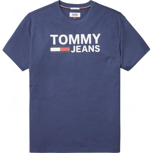 ab1b3830b11 Tommy Jeans - T-shirt manches courtes homme Tommy Jeans - Bleu - T-