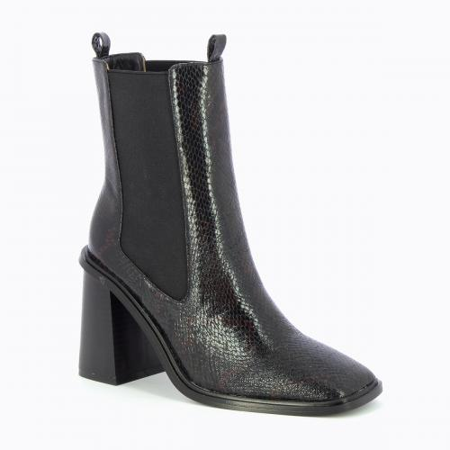 Vanessa Wu - Bottines Femme Noir - Brillance Absolue