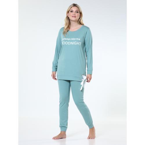 Survêtement Noir//LEO Shorty Lingerie De Nuit Pyjama Pyjama Chemise S M L XL XXL
