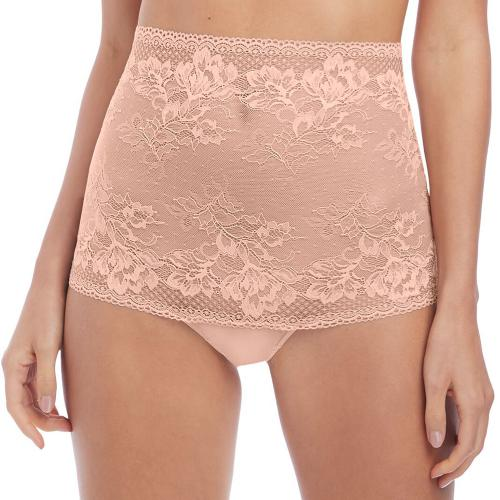 Wacoal - String taille haute beige - Tangas, strings