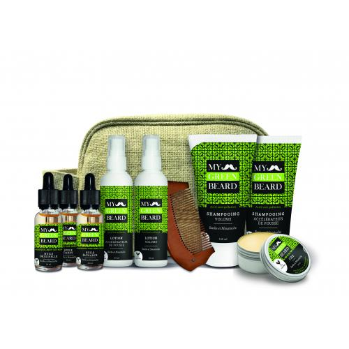 My Green Beard - TROUSSE complète - Soins homme